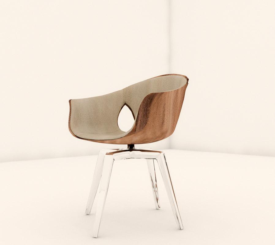 3D chair lounge revit model