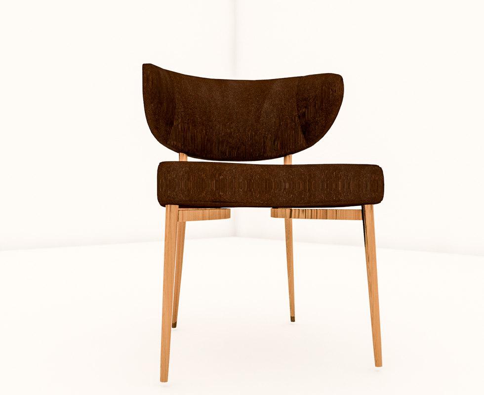 lounge revit chair 3D model