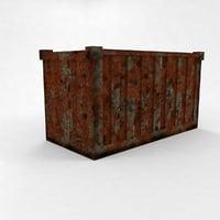 3D container cargo