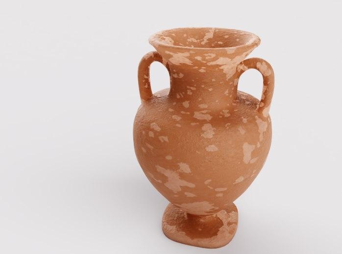 ceramic old pitcher 3D model
