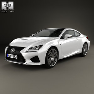 lexus rc f 3D model
