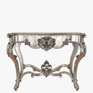 3D console table modenese