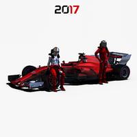 Formula 1 2017 car