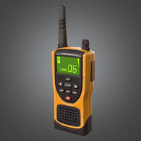 Walkie Talkie Radio Handheld (Camping) - PBR Game Ready model