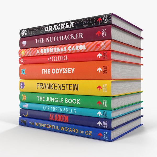 3D childrens books