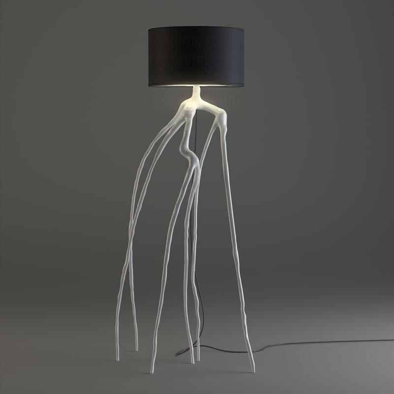 root lamp 3D model