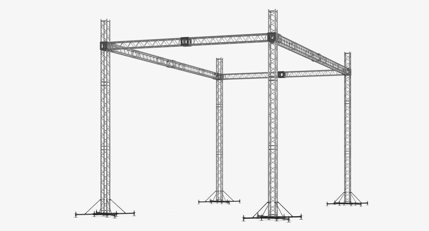 3D big truss