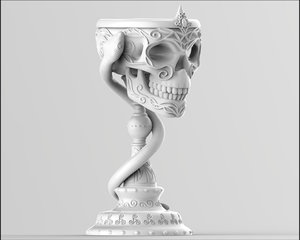 3D goblet snake