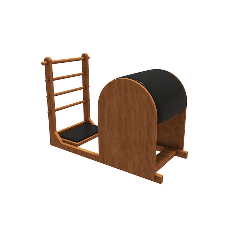 3D fitness equipment ladder barrel