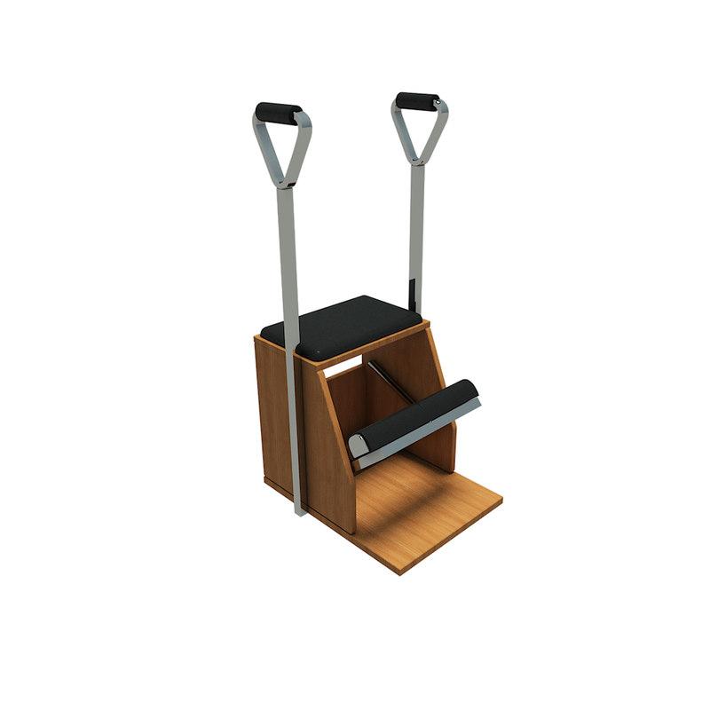 pilates chair 3D model