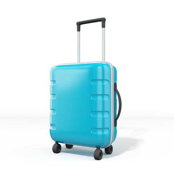 travel bag 3D model