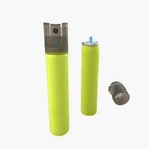 3D model aerosol industrial