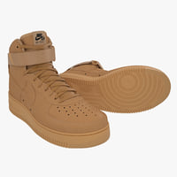 Nike Air Force 1 High (Flax)