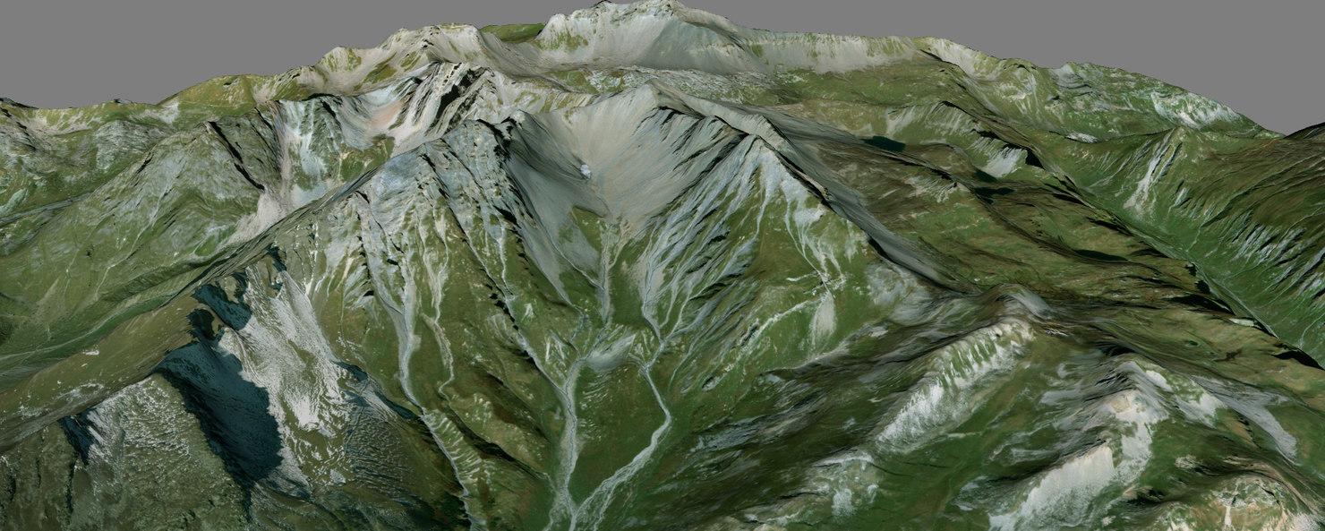 3D model mesh pointe presset