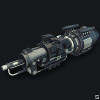 3D sci-fi engine