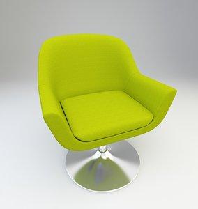 3D arm chair model