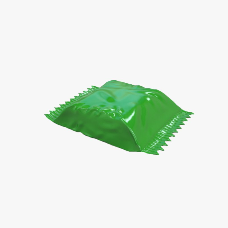candy wrapper 3D