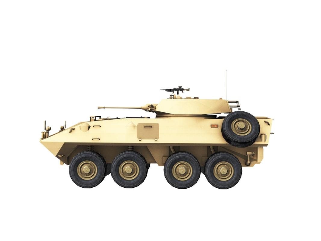 lav-25 turret 3D