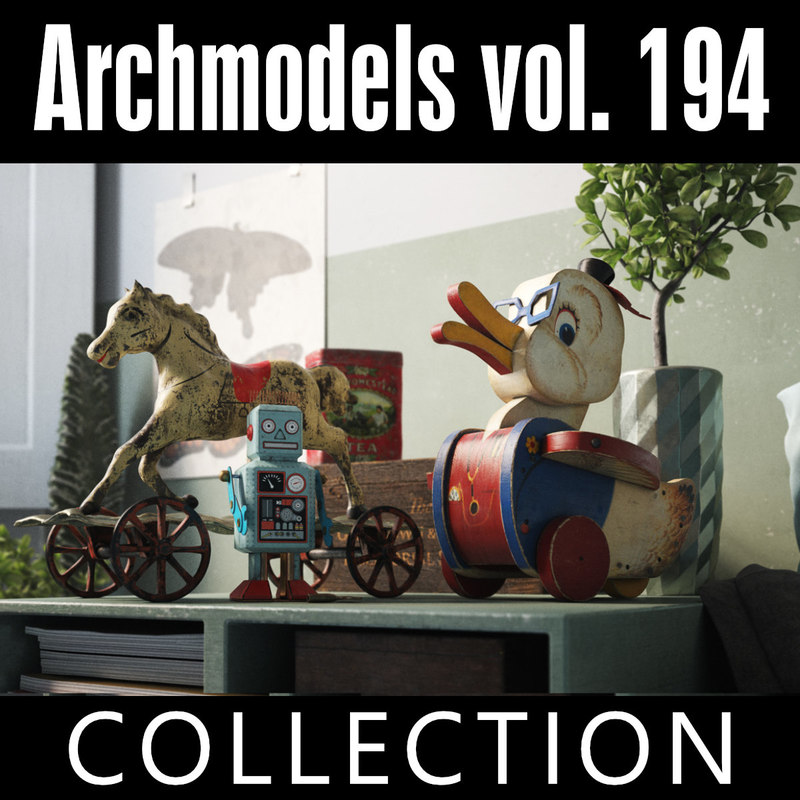 3D archmodels vol 194 model