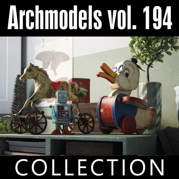 3D archmodels vol 194 model