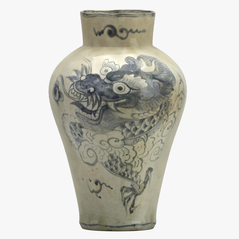 3D vase 28