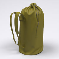 duffel bag 3D model