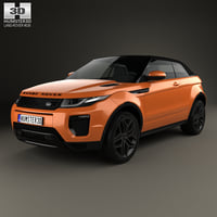 3D range rover land model