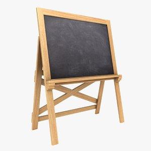 chalkboard 03 color 2 3D