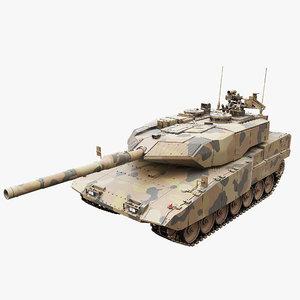 3D leopard tank main