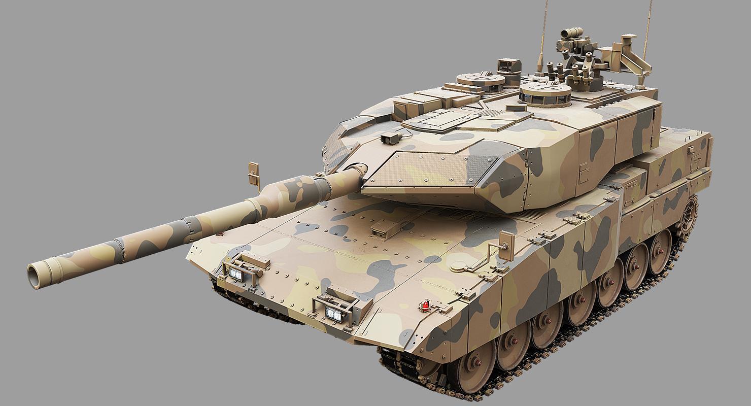 3D leopard tank main - TurboSquid 1254113