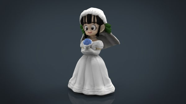 3D chi-chi bride