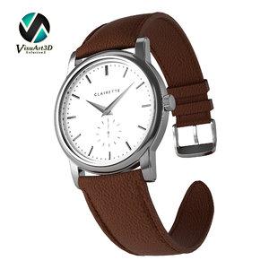 3D clairette watches model