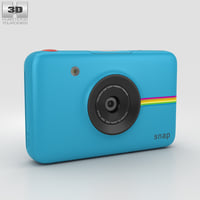 polaroid snap instant 3D model