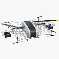 heavy lift drone skyf 3D model
