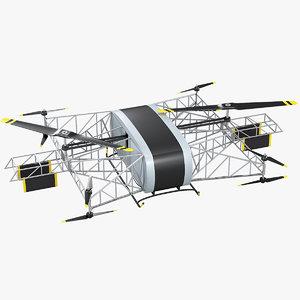 heavy lift drone skyf 3D model