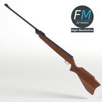 carabine carbine rifle hr 3D model
