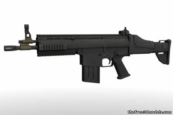 3d m4 carabine model