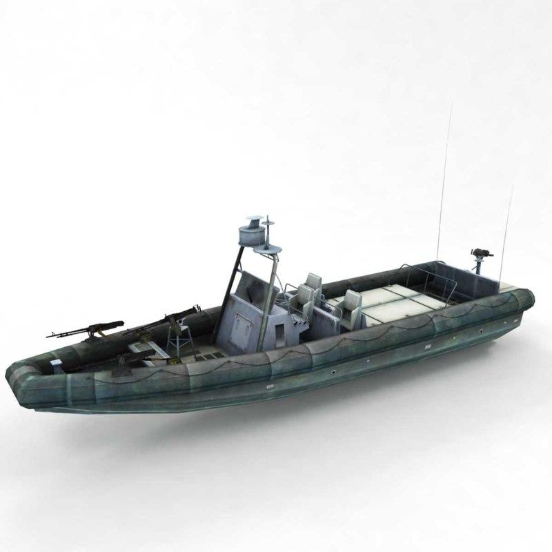 3D patrol boat