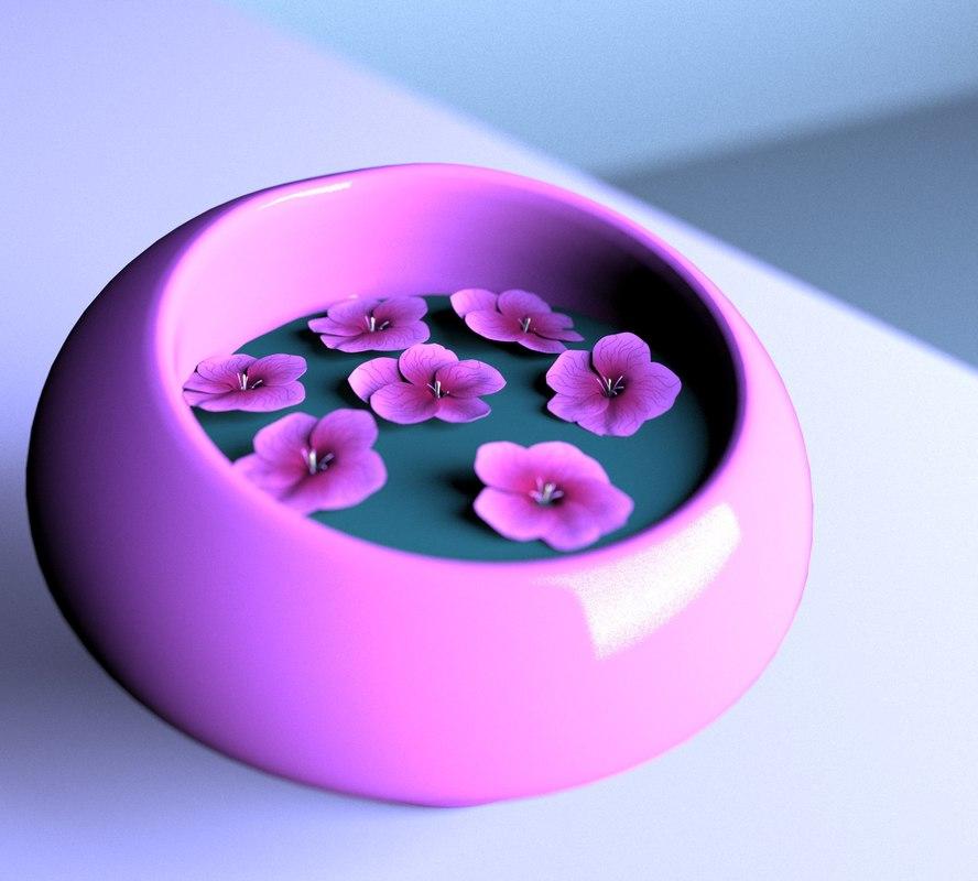 flower vase model