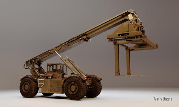 3D model kalmar container handler