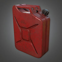 Gasoline Jerry Can (Camping) - PBR Game Ready