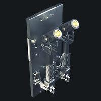 sci-fi camera model