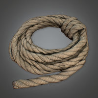 Rope (Camping) - PBR Game Ready