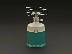 3D burner gas model