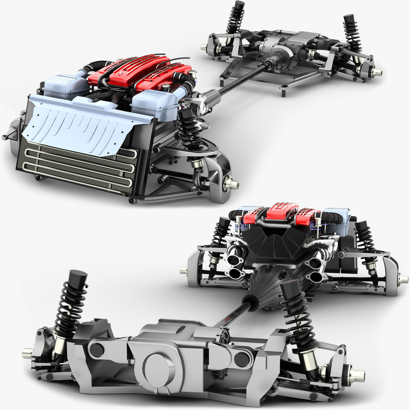 3D chassis ff awd tipo