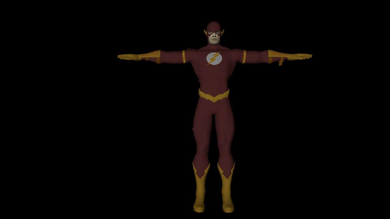 flash avangers 3D