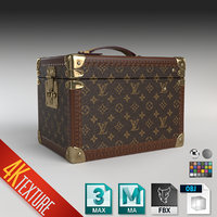 LV Louis Vuitton monogram toiletrise trunk box luggage