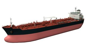 oil product tanker 3D model