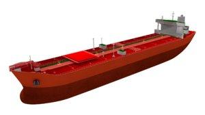 3D oil tanker helipad model