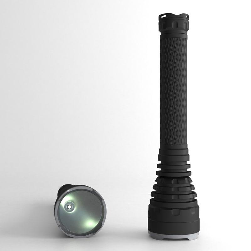 flashlight light model